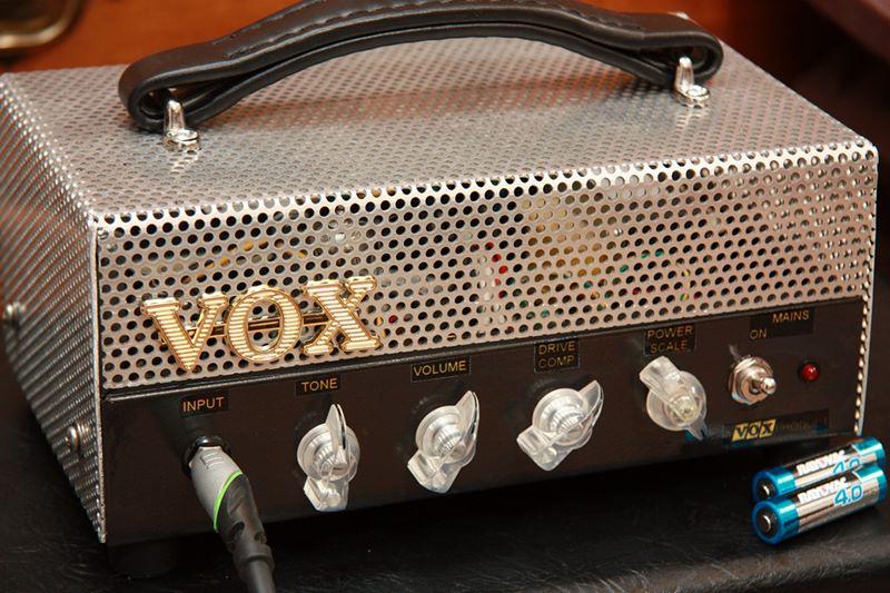 Dan Becker's Power-Scaled Vox AC4 Amplifier Build
