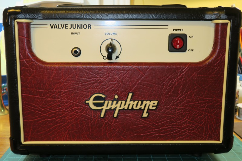 Dan Becker's Epiphone Guitar Amp with Mercury Magnetics Modifications