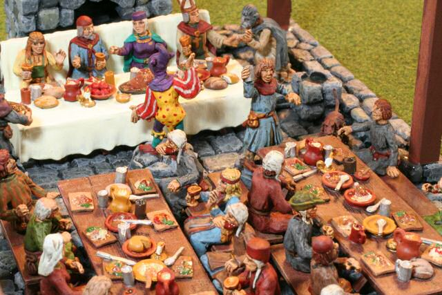 The Duke\'s Banquet 28 mm Miniatures