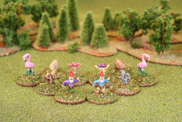 Dan Beckers 28 mm Garden Miniatures