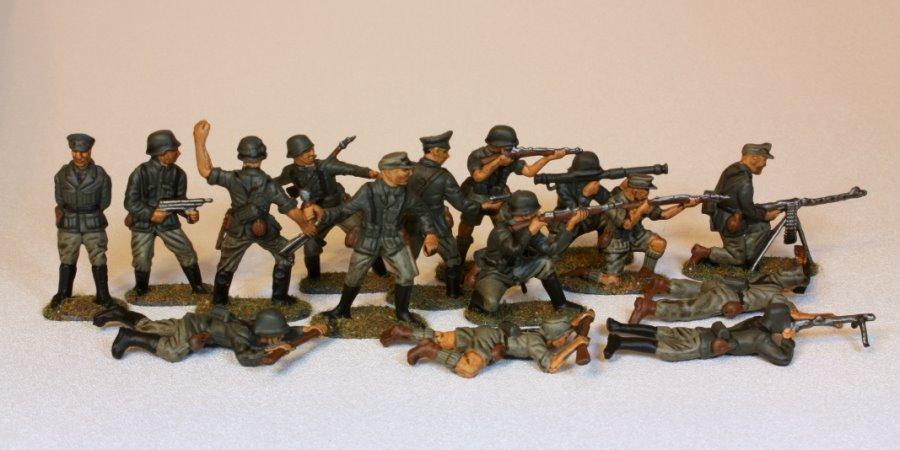 German army men